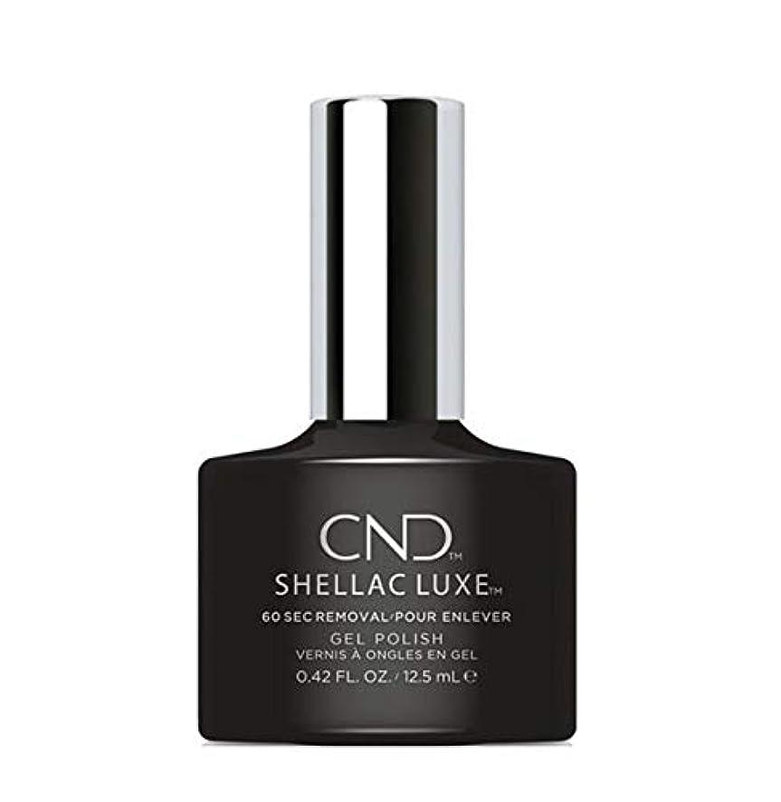 チャップ疑わしい生き物CND Shellac Luxe - Black Pool - 12.5 ml / 0.42 oz
