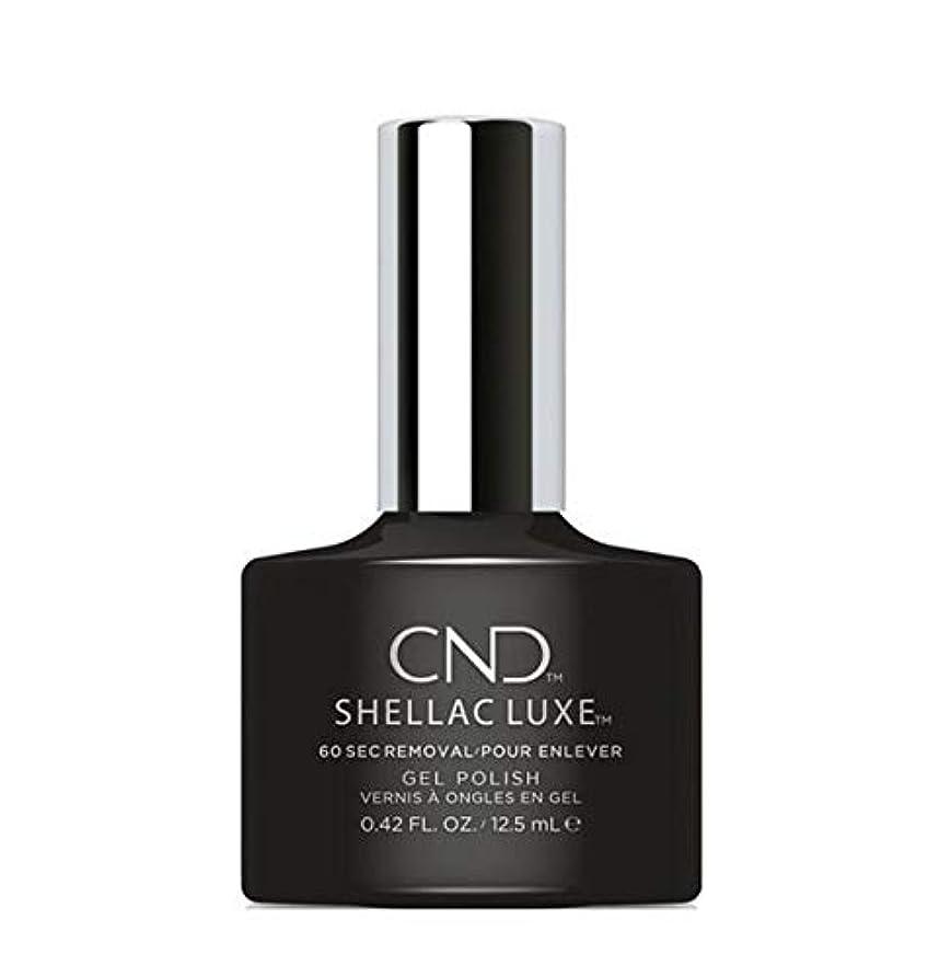 ハンバーガーレクリエーション穏やかなCND Shellac Luxe - Black Pool - 12.5 ml / 0.42 oz