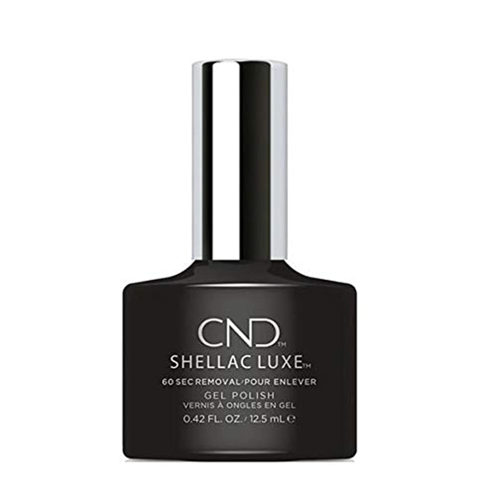 破産テスピアンその結果CND Shellac Luxe - Black Pool - 12.5 ml / 0.42 oz
