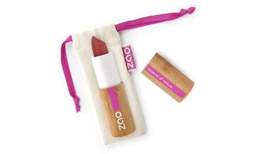Zao - Rouge à Lèvres mat Bio / 3.5 Gr - Couleur : Rouge Sombre 465