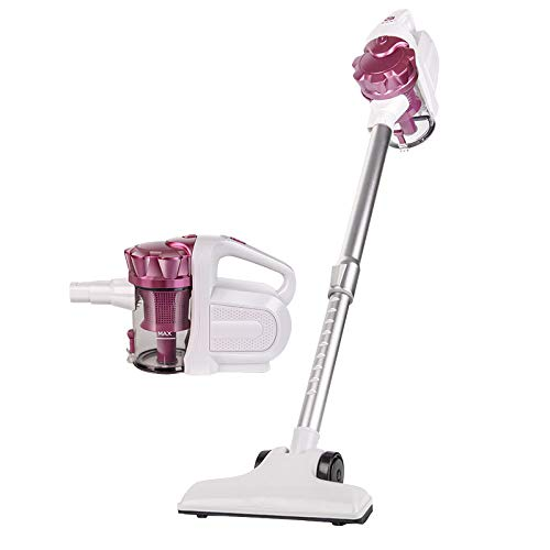 コードレス掃除機、2 in 1 Bagless直立した手持ち型の棒掃除機掃除機カーペットのためのコードレスHEPAろ過堅い床ペットの毛