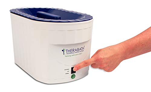 Therabath Professional Thermotherapy Paraffin Adjustable Bath TB9 with New Quick Melt Mode - Arthritis Treatment Relieves Muscle Stiffness - for Hands, Feet, Face and Body Proudly Made in USA
