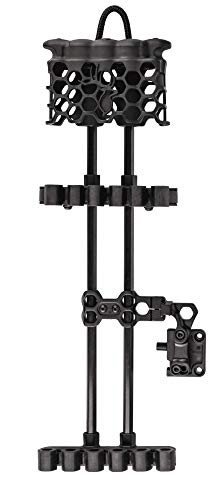 Trophy Ridge Hex Light 5 Arrow Quiver Black ,One Size