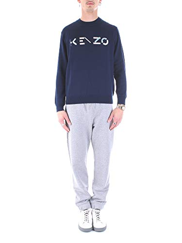 Kenzo Herren Pullover blu M
