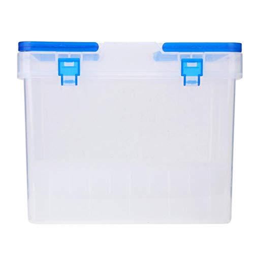 Markierungsstift-Organizer Markierungsstifthalter Langlebig Tragbar Transparente Aufbewahrungsbox mit großer Kapazität Schule für das Home Office(80 pcs)