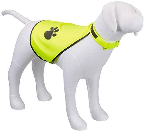 TRIXIE Sicherheitsweste für Hunde, Neongelb, L