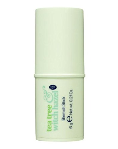 Boots Tea Tree & Witch Hazel Blemish Stick 6.5g Fights Spot Causing Bacteria by Acne