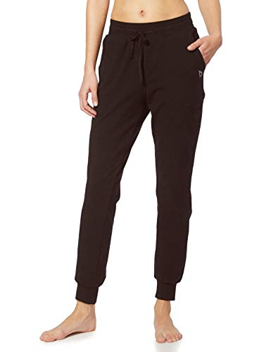 BALEAF Women's Active Yoga Sweatpants Workout Joggers Pants Cotton Lounge Sweat Running Pants with Pockets Coffee Size M