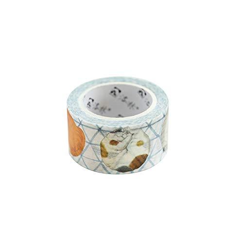 Demarkt Washi Tape Dekoband Katzemuster Handkonto autoadhesiva Masking Tape Tape Scrapbooking DIY
