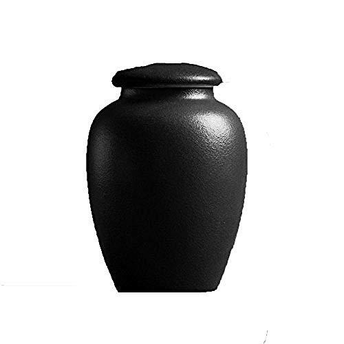 Kliy Urne aus urn-Keramik für Erwachsene und Urnen für große Haustiere oder Hundehütte im Columbarium