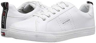 Tommy Hilfiger(トミー ヒルフィガー) レディース 女性用 シューズ 靴 スニーカー 運動靴 Lelita - White/Black [並行輸入品]