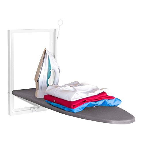 Xabitat Wall Mounted Ironing Board Storage for Small Spaces