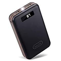 20000mAh High Capacity and Compact Size Backup Battery: Taurus X4 is smaller than iPhone 6 Plus, Our cell phone battery charger is powerful enough to charge iPhone 6 almost 8 times, iPad Air almost 1.7 times, Galaxy S6 almost 5.7 times, Macbook 2016 ...