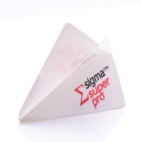 3-ER SETS UNICORN SIGMA SUPER PRO WEISSE DARTS FLIGHTS ( 3 Sets )