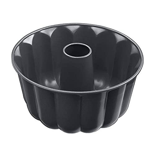 Kaiser La Forme Plus Gugelhupfform 24 cm, Gugelhupf Backform rund, extra hoher Rand, Kuchenform, Emailleboden, Kuchenform antihaftbeschichtet