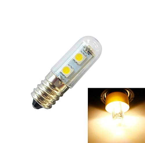 Lichte Bulbs E14 schroef licht LED koelkast lamp 1W 220V AC 7 licht SMD 5050 ampère LED-licht koelkast thuis (warm wit) LED-lampen Corn Light Bulb (Color : Warm White)