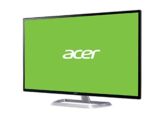 Acer EB321HQUCbidpx 31.5 Inch WQHD Monitor, Black/Silver (IPS Panel, 60 Hz, 4ms, DP, HDMI, DVI)