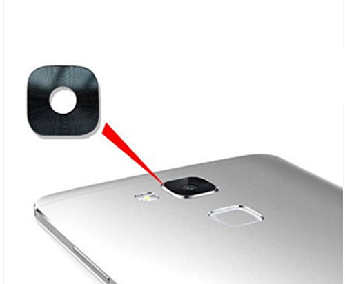 PER HUAWEI ASCEND MATE 7 MT7-TL10 Ricambio len Lente vetro COVER rear Camera vetrino back obiettivo Fotocamera posteriore + adesivo biadesivo