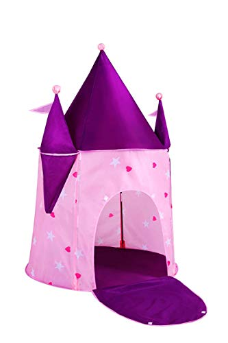 "Alvantor Kids Princess Crystal Castle, Pop Play Tents Indoor Outdoor Great Game and Toy Gift for Children Fun, Crystle, 35""x35""x51"""