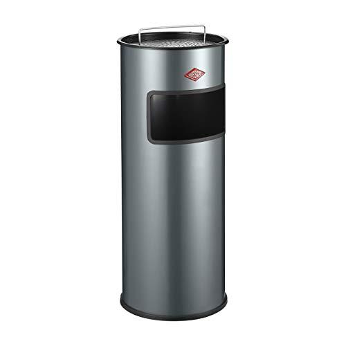 WESCO 150 601-13 Standascher 30 Liter, mit Sieb, Graphit