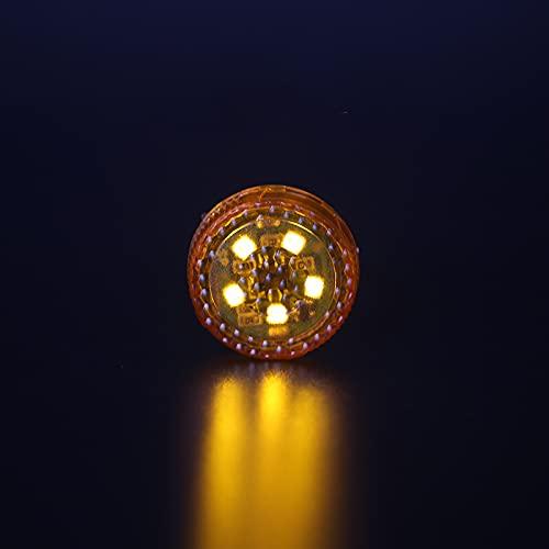 xy para 2 unids 5 Leds Puerta de Apertura de la Puerta de la Puerta de la luz de la luz de la luz Anti-colisión Flash Lights inalámbrica de la señal de Alarma magnética Lámpara Compatible con