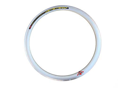 Estrellas borde 43mm de profundidad V borde, Fixie Single Speed, bicicleta de pista, carretera, Fixed Gear bicicleta Llantas 36H, plata