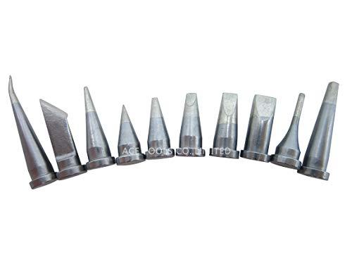 Weller LT Ersatz-Lötspitzen für WP80, WSP80, W13338, WD1000, WD2000, WSD81, WS81, WSF81D8, WS81D5, 10 Stück