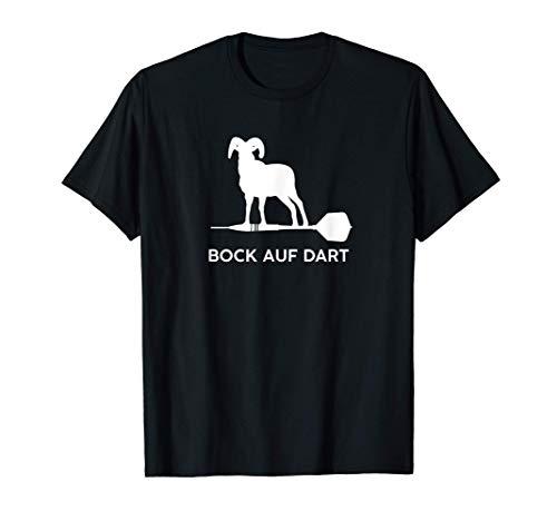 Bock Auf Dart Lustiges Darts Dartpfeil Geschenk Zubehör T-Shirt