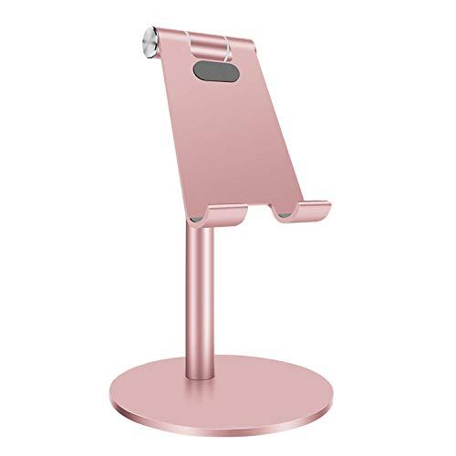 SXPSYWY Soporte para teléfono móvil Soporte de Mesa Plegable Universal para teléfono Celular Soporte de Escritorio de plástico Soporte para Tableta para teléfono móvil para iPhone Samsung TSLM13