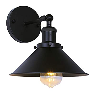 Passica Vintage Industrial Wall Sconce Light Adjustable Wall Lamp Decorative Wall Light Fitting