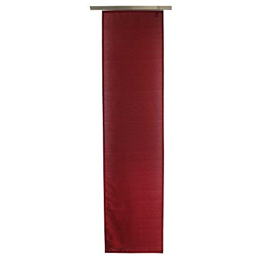 Gözze Schiebevorhang, Blickdicht, 60 x 245 cm, Dakar, Rot, 66015-37-6045