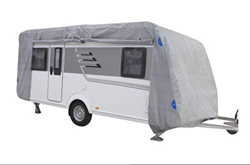 Schutzhülle Abdeckhaube aus hochwertigem Material für Wohnwagen Größe M (550 x 250 x 220 cm)