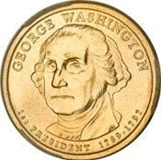2007 George Washington Presidential $1 Coin - First President, 1789-1797 by 2007 Presidential Dollars
