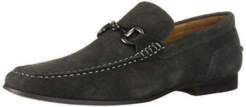 Kenneth Cole REACTION Men's Crespo Loafer B Shoe, Dark Grey, 13 M US