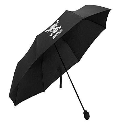 LUOJIN Regenschirm Comic Cartoon Regenschirm Regenschirm Regenschirm Anti-Uv Regenschirm Winddicht Regenschirm