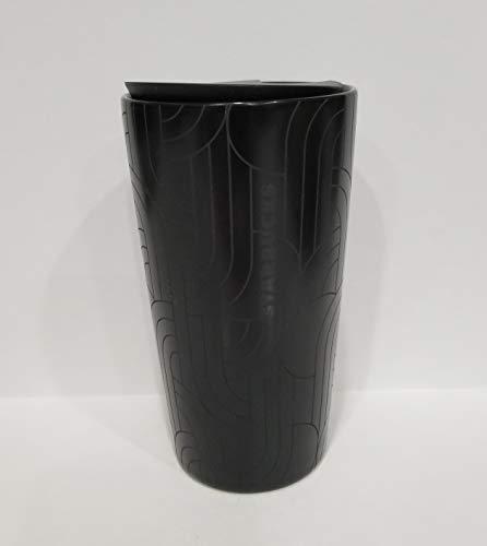 Starbucks Fall 2020 Black Geometric Ceramic Hot Cup Tumbler