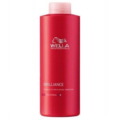 Wella Brilliance Shampoo 1000ml Fine/normal by Wella BEAUTY by Wella