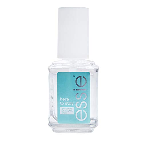 Essie ESS BASE COAT Here to stay Here t smalto base per ugnhie Trasparente 13,5 ml