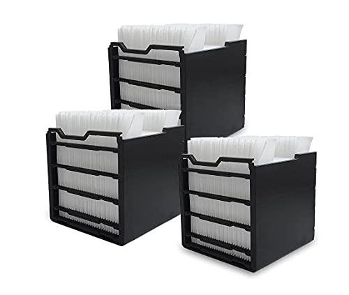 Arctic Air Ersatzfilter,3 Stk. Air Cooler Filter, Air Ersatzfilter,Ersatzfilter für Mini Luftkühler Ventilator Klimageräte,Wärmeabsorptionskälteluftkühler Ersatzfilter