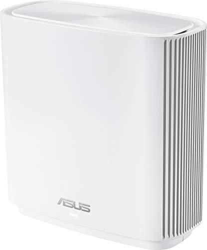 ASUS ZenWiFi-AC-CT8 - Sistema Wi-Fi Mesh Tri-Banda AC3000, cobertura de más de 225m2, AiProtection con TrendMicro de por vida, 4 puertos Gigabit, adaptive QoS, compatible con AiMesh, color blanco