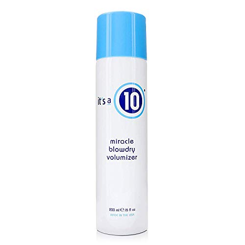 It's a 10 Haircare Miracle Blowdry Volumizer, White, 6 fl. oz.