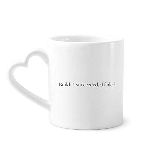 DIYthinker Programmer Interface Bouwen Programma Koffie Mokken Aardewerk Keramische Beker Met Hart Handvat 12oz Gift