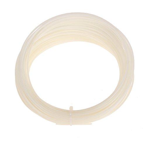 Foxpic ABS filamento (50G) Sample per penna 3d 1,75mm Diametro 5m di lunghezza, bianco
