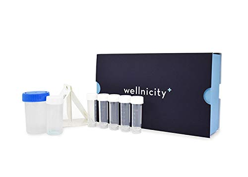 Best Deals! Wellnicity-at-Home Brain Stress Test. Urine and Saliva Test That Measures Key Chemical M...