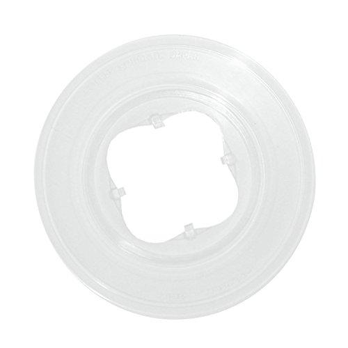 SHIMANO Unisex– Erwachsene Speichenschutzscheibe-2092131800 Speichenschutzscheibe, Weiß, Einheitsgröße