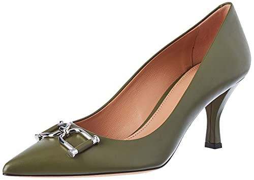 BOSS Zapatos de Mujer Olivia 70e-c, Color Verde, Talla 42 EU