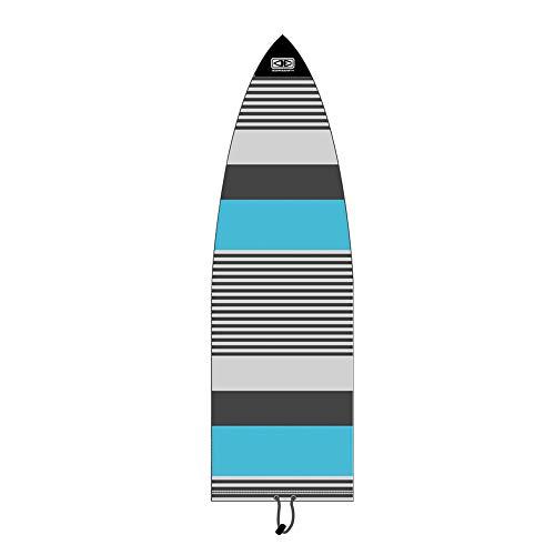 Ocean & Earth Fish Stretch Cover/Calcetines para tabla de snowboard, color azul