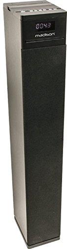 Madison Center130CD-BK - Torre de sonido multimedia (130 W) color negro