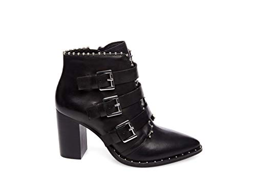 Steve Madden Humble Bootie Black Leather 7