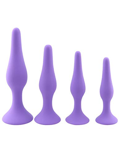 Realistic 4/Set ,Silicone Graduated Ribbed Best Anal Béads Secret Delivery